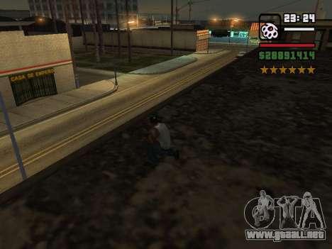 Real Cops para GTA San Andreas segunda pantalla