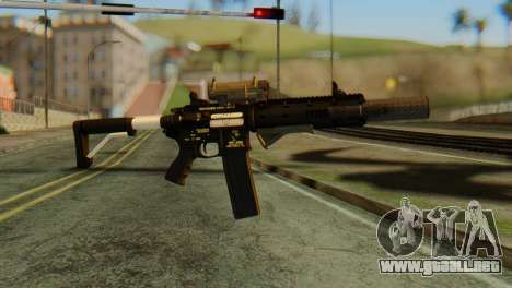 Carbine Rifle from GTA 5 v2 para GTA San Andreas