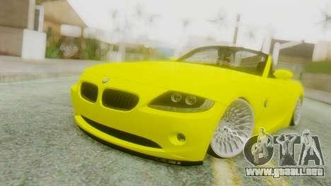 BMW Z4 Construcción de la Ens para GTA San Andreas