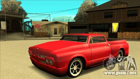 Slamvan Final para GTA San Andreas interior