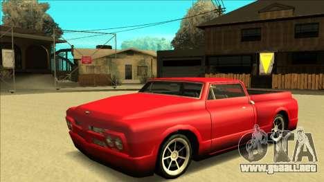 Slamvan Final para GTA San Andreas interior