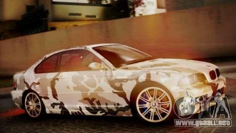 BMW M3 E46 v2 para GTA San Andreas interior