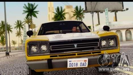 GTA 5 Vulcar Warrener SA Style para GTA San Andreas vista posterior izquierda
