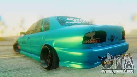 Proton Wira RHBK para GTA San Andreas left