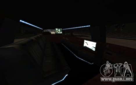Albany Esperanto Limousine para GTA 4 Vista posterior izquierda