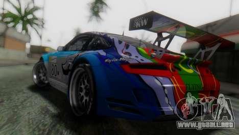 Porsche 911 GT3-RSR para GTA San Andreas left