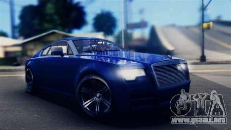 GTA 5 Enus Windsor IVF para GTA San Andreas