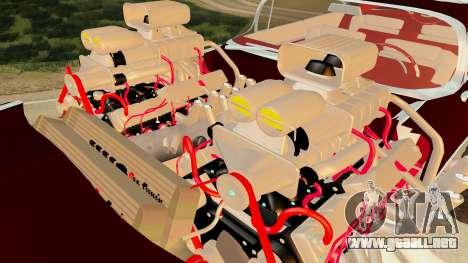 Gigahorse from Mad Max Fury Road para la visión correcta GTA San Andreas
