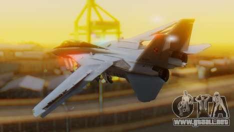F-14A Tomcat Marynarka Wojenna RP para GTA San Andreas left