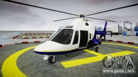 Buckingham Swift NYPD para GTA 4