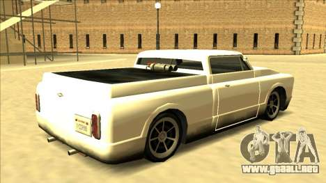 Slamvan Final para GTA San Andreas left