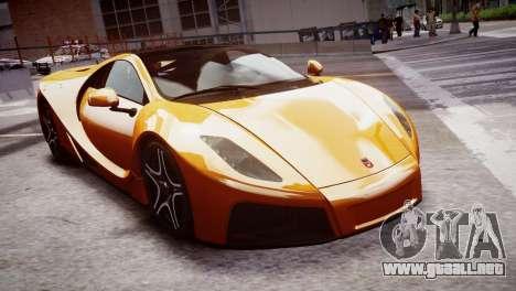 GTA Spano 2013 para GTA 4 visión correcta