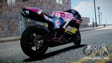 Bike Bati 2 HD Skin 3 para GTA 4 left