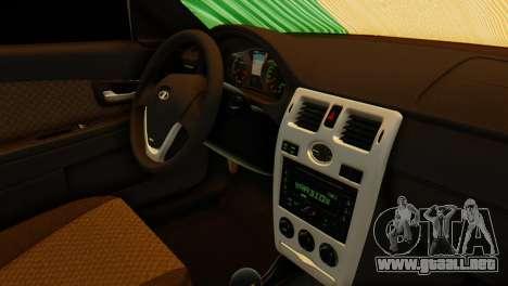 VAZ 2170 Italia para la visión correcta GTA San Andreas