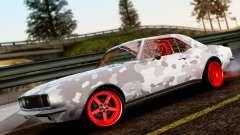 Chevrolet Camaro SS Camo Drift para GTA San Andreas