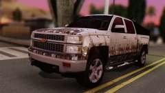 Chevrolet Silverado Enlodada para GTA San Andreas