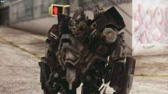 Ironhide Skin from Transformers v3 para GTA San Andreas