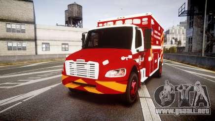 Freightliner M2 2014 Ambulance [ELS] para GTA 4