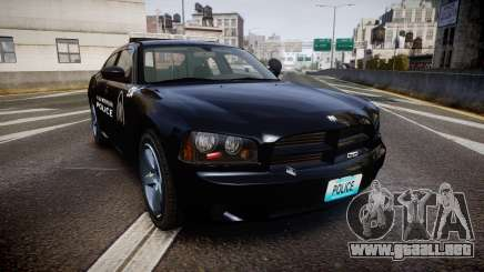 Dodge Charger Metropolitan Police [ELS] para GTA 4