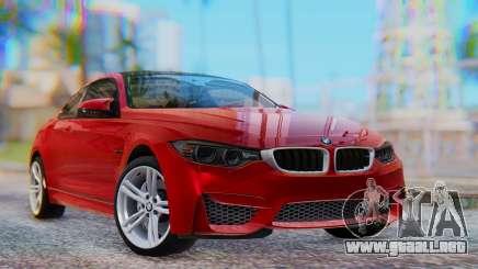 BMW M4 2015 HQLM para GTA San Andreas