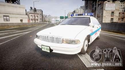Chevrolet Caprice Chicago Police [ELS] para GTA 4