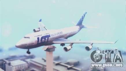 LOT Polish Airlines Boeing 747-400 para GTA San Andreas