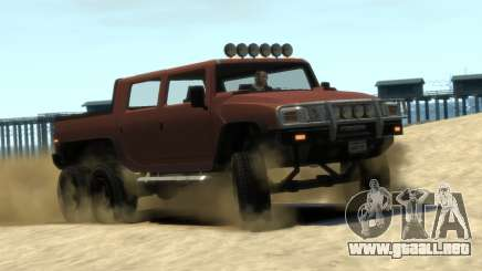 Mammoth Patriot 6x6 para GTA 4