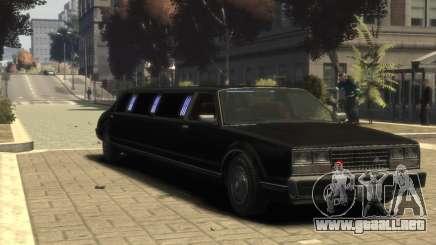 Albany Esperanto Limousine para GTA 4