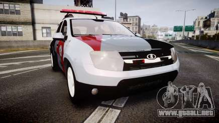 Lada Duster 2015 PMESP [ELS] para GTA 4