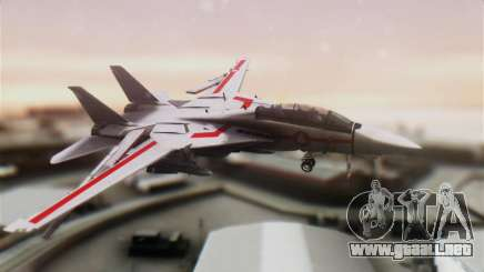 F-14D Tomcat Macross Red para GTA San Andreas