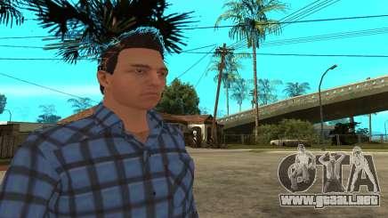 Skin Claude [HD] para GTA San Andreas