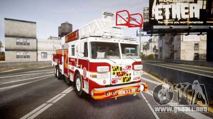 Pierce Arrow XT Ladder 2013 [ELS] para GTA 4