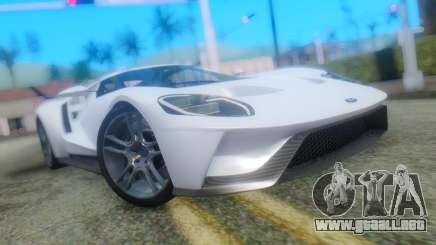 Ford GT 2017 para GTA San Andreas