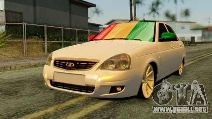 VAZ 2170 Italia para GTA San Andreas