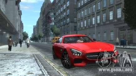 Mercedes-Benz SLS AMG GT 2015 para GTA 4