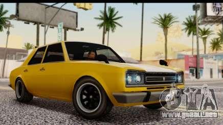 GTA 5 Vulcar Warrener SA Style para GTA San Andreas