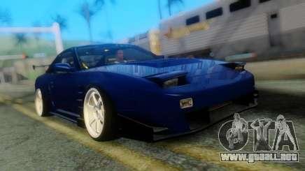 Nissan 180SX Uras Bodykit para GTA San Andreas