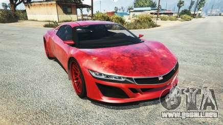 Dinka Jester (Racecar) Blood para GTA 5