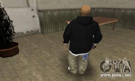 Rifa Skin First para GTA San Andreas quinta pantalla