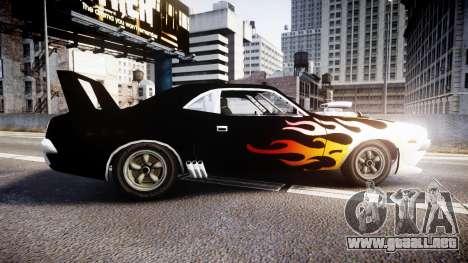 Patriot Vegas G20 Firebomb para GTA 4 left