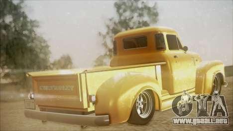 Chevrolet 3100 Truck 1951 para GTA San Andreas left