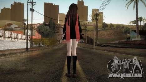 Tateyama Ayano (Kagerou Project) para GTA San Andreas tercera pantalla