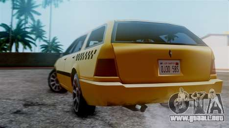 Stratum Taxi para GTA San Andreas left