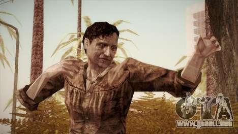 RE4 Isabel without Kerchief para GTA San Andreas
