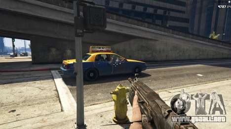 GTA 5 Gears of War Lancer 1.0.0 tercera captura de pantalla
