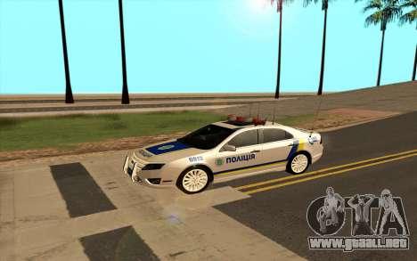 Ford Taurus Ukraine Police para GTA San Andreas left