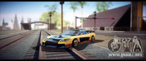Temfan ENB para GTA San Andreas segunda pantalla