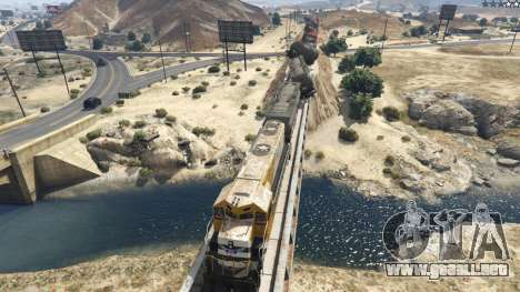 GTA 5 Improved freight train 3.8 tercera captura de pantalla
