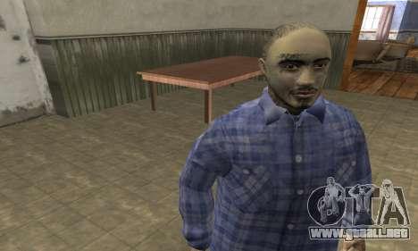Rifa Skin Second para GTA San Andreas tercera pantalla