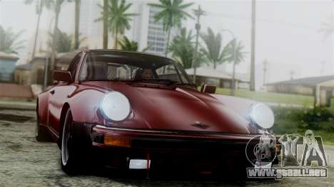 Porsche 911 Turbo (930) 1985 Kit C para GTA San Andreas interior